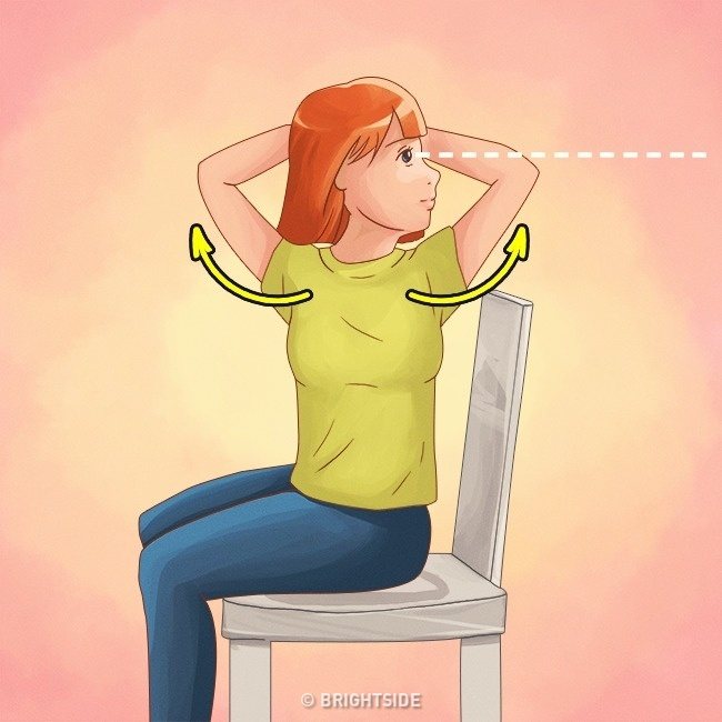 Làm được 10 điều này bạn sẽ không bao giờ bị gù lưng mỗi khi đứng hay ngồi - Ảnh 4.