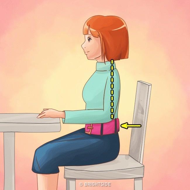 Làm được 10 điều này bạn sẽ không bao giờ bị gù lưng mỗi khi đứng hay ngồi - Ảnh 8.
